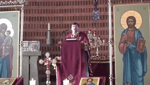 Повідомлення про сповідь перед Службою