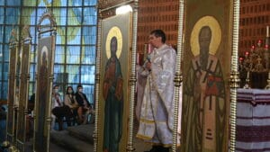 Від Матея святого Євангелія читáння.   Українська Церква у Німеччині