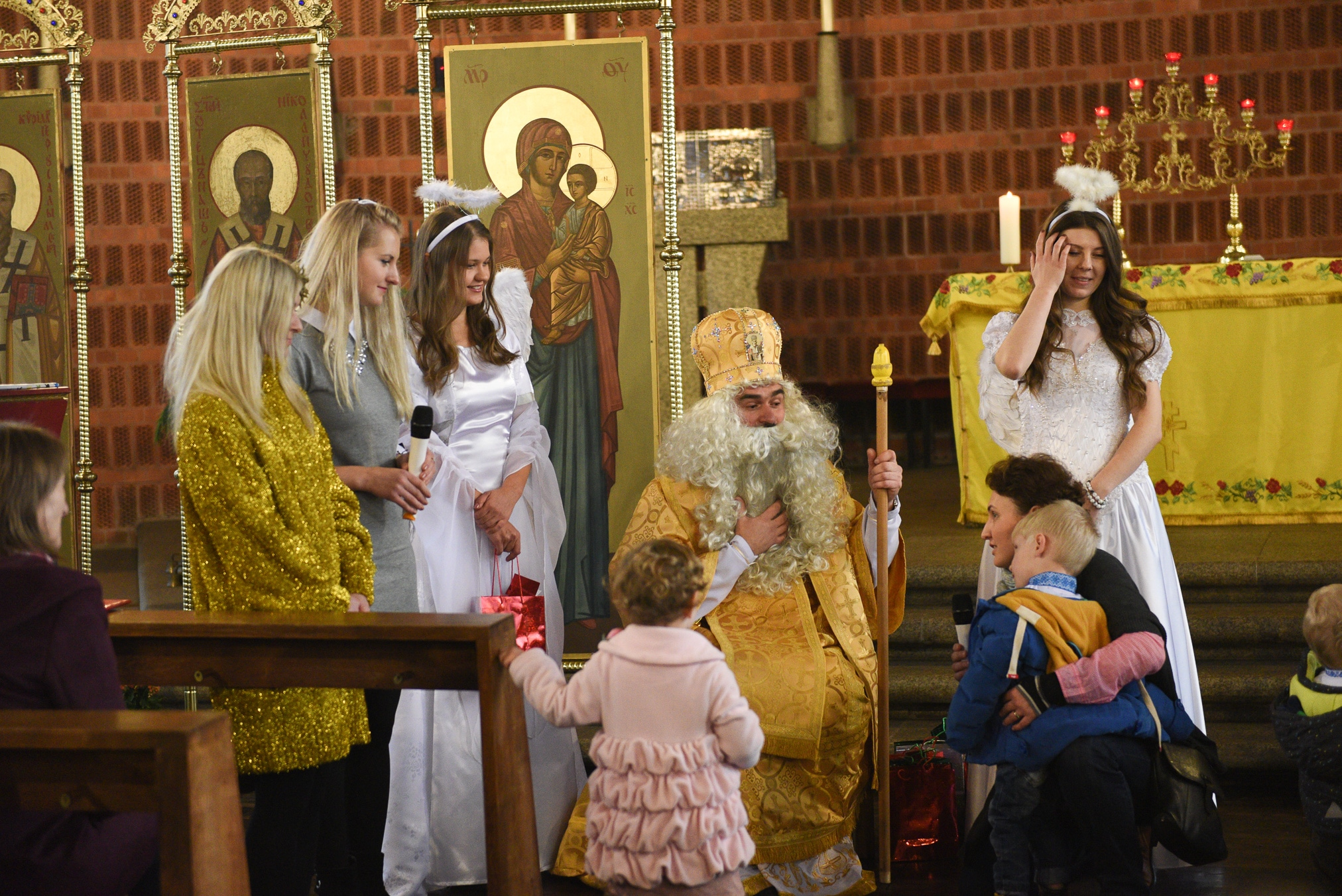 Світлини зі святкування дня Святого Миколая у Кьольні
