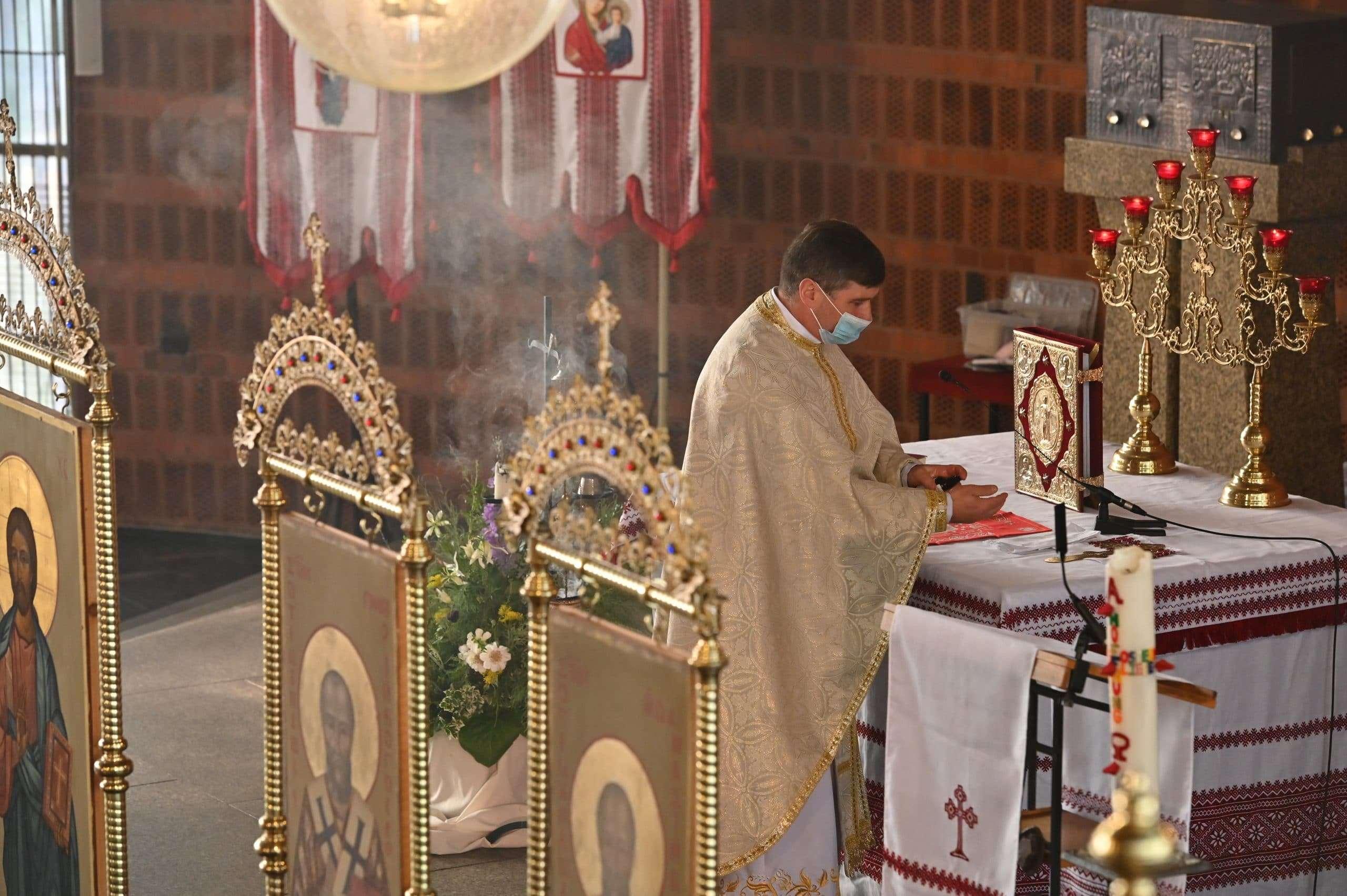 Проповідь від 13 вересня 2020 про запрошених на весілля. Отець Микола Павлик у греко-католицькому храмі м. Кьольн, Німеччина