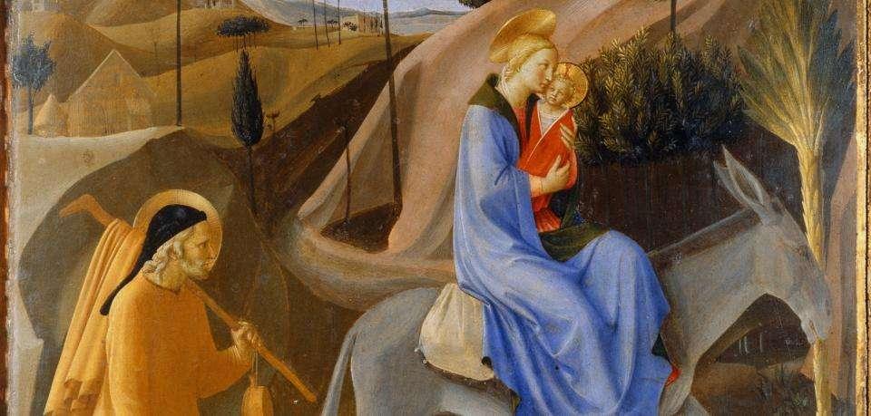 Євангеліє від Матвія про втечу до Єгипту