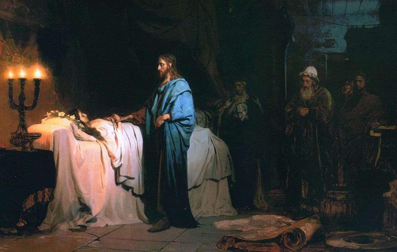 Проповідь 22 листопада 2020 про зцілення жінки та воскресіння доньки Яіра