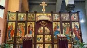 Іконостас у Дюссельдорфі | Українська Церква у Німеччині