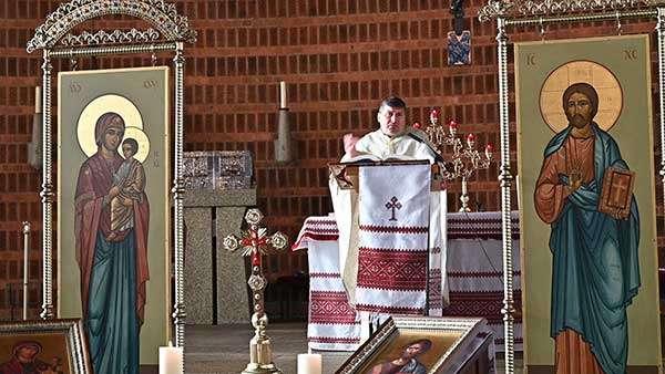 Отець Микола Павлик у Кельні