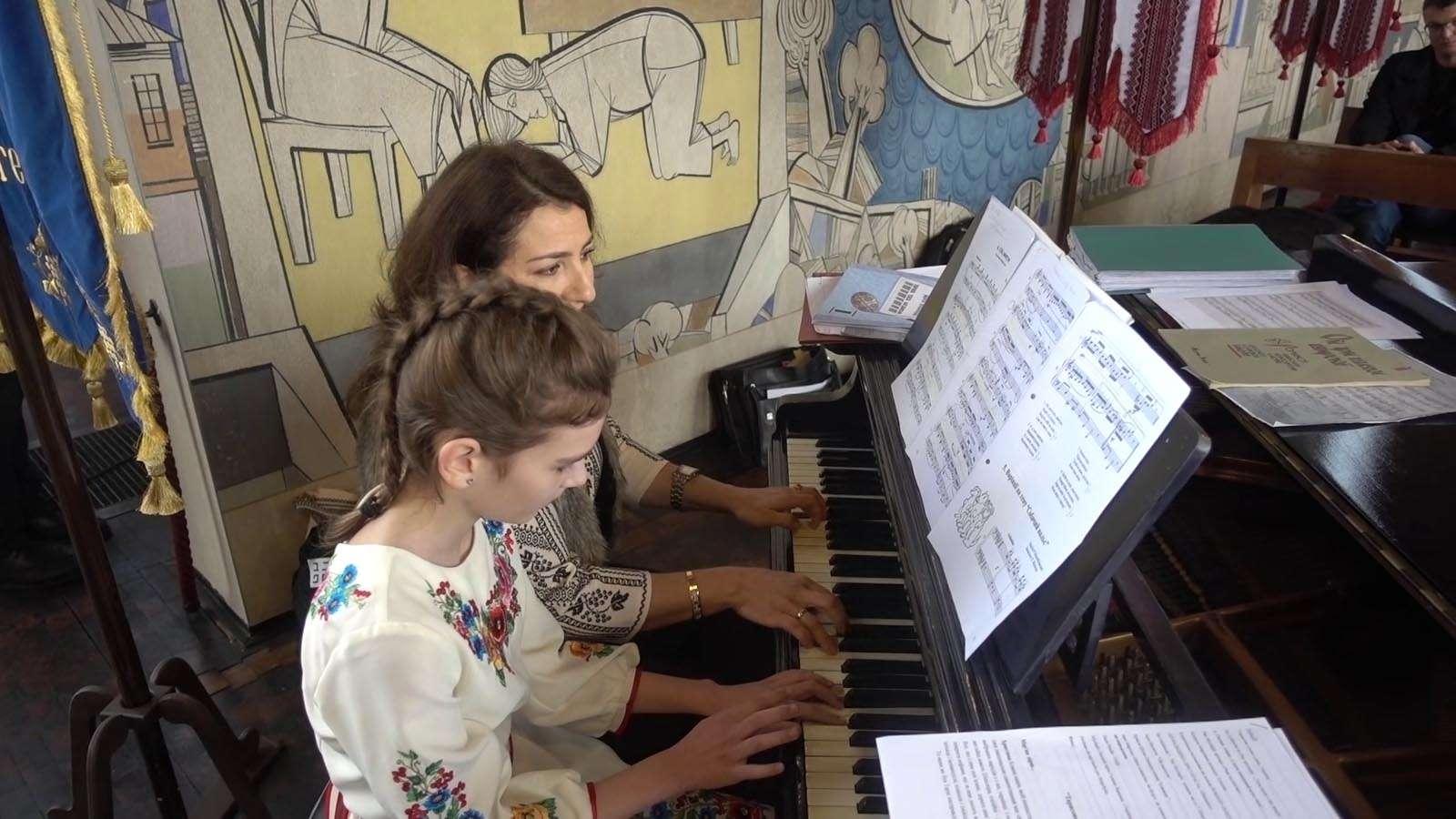 Концерт до 205 річниці Т.Г. Шевченка / Джигуне