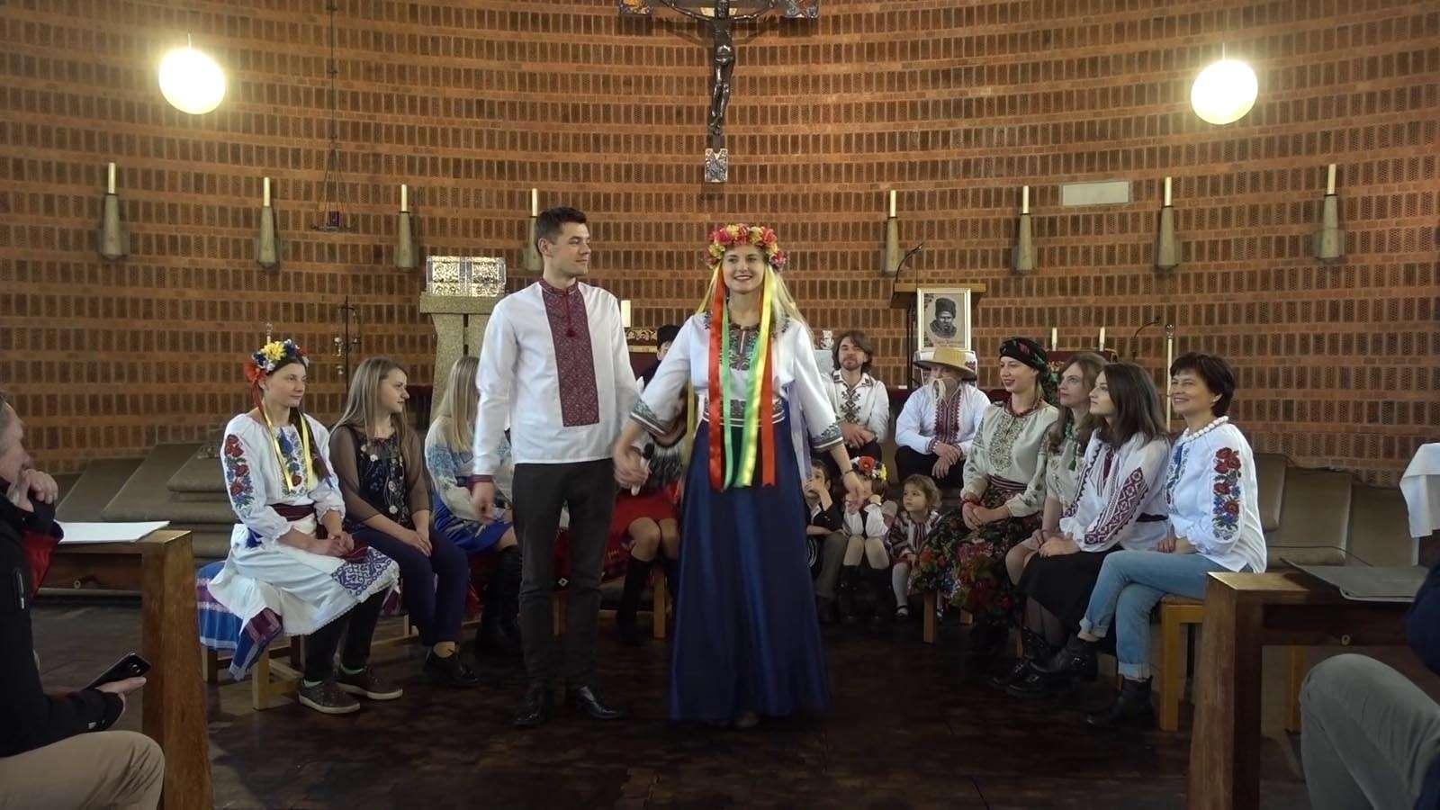 Концерт до 205 річниці Т.Г. Шевченка / Боже великий, єдиний.